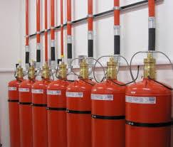 定期维护和维护气体灭火系统